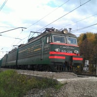 Photo taken at 1447 км by Дмитрий Г. on 9/23/2012