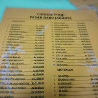 Photo taken at Mie Pasar Baru Jakarta by tanti l. on 7/18/2016
