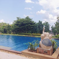 Photo taken at Imperial River House Resort Chiangrai by Thonggaw E. on 7/11/2015