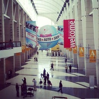 Photo taken at McCormick Place by The Local Tourist on 2/7/2013