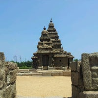 Photo taken at Shore Temple by Arunima J. on 9/21/2012