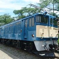 Photo taken at 電気機関車EF64 18 by Terusun on 6/5/2018