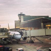 Photo taken at Brussels Airport (BRU) by Warren H. on 11/5/2013
