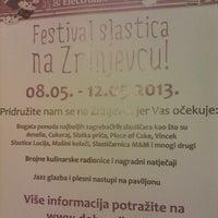 Photo taken at Festival Slastica na Zrinjevcu by Toni w. on 5/8/2013