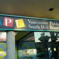 Photo taken at Vancouver Public Library - South Hill by Gregório R. on 9/14/2012