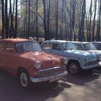 Photo taken at Отечественные ретро автомобили by NadiN . on 4/26/2014