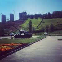 Das Foto wurde bei Парк Победы von Полина Ф. am 6/30/2013 aufgenommen