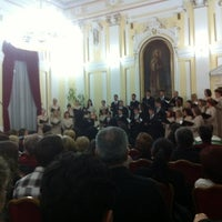 """Photo taken at Gimnazija """"Jovan Jovanović Zmaj"""" by Gocca on 10/29/2012"""