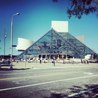 Photo taken at Rock & Roll Hall of Fame by John A. on 9/16/2012