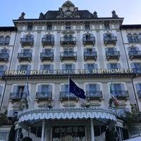 Foto scattata a Grand Hotel Des Iles Borromees Stresa da Roman E. il 4/18/2018