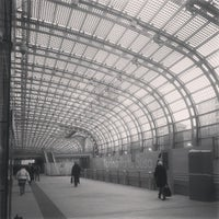 Photo taken at Stazione Torino Porta Susa by Claudia G. on 12/13/2012