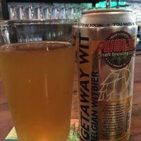 Photo taken at Public Craft Brewing Co. by Matthew G. on 8/30/2018