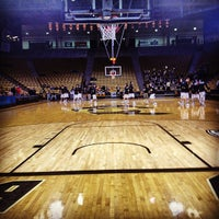 Photo taken at CU Basketball Club Room -Coors Events Center by Julie F. on 12/29/2012
