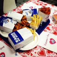 Photo taken at White Castle by Julie F. on 2/15/2013
