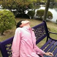 Photo taken at 天寿園 by Yorimitsu K. on 4/29/2014