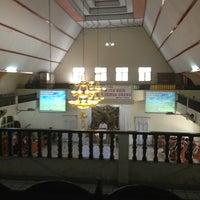 Photo taken at GMIM Getsemani Sario Kota Baru by oQ R. on 3/31/2013