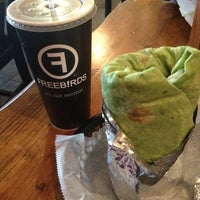 Photo taken at Freebirds World Burrito by Amber H. on 12/29/2012