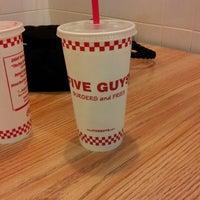 Photo taken at Five Guys by John H. on 11/11/2012