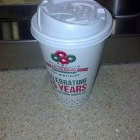Photo taken at Krispy Kreme Doughnuts by Leita W. on 12/28/2012