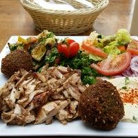 Photo taken at Falafel Moudi by Totto B. on 6/17/2014