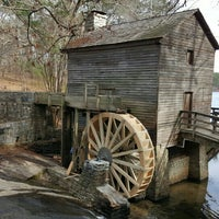 Photo taken at Grist Mill / Stone Mountain Park by Richard on 12/20/2015