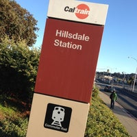 Photo taken at Hillsdale Caltrain Station by Slobodan M. on 11/11/2012