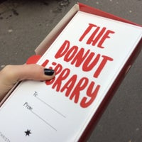 Photo taken at The Donut Library by Alexandra S. on 1/3/2017