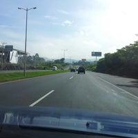 Photo taken at Peaje Brasil de Santa Ana by Erick S. on 10/23/2012