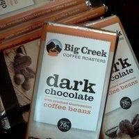 Photo taken at Big Creek Coffee Roasters by Christina B. on 7/13/2013