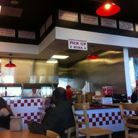 Photo taken at Five Guys by Victor on 1/17/2013