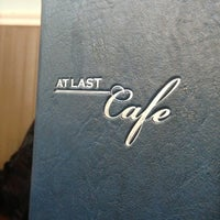 Photo taken at At Last Cafe by Omar on 1/31/2013