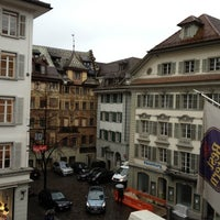 Photo taken at Best Western Hotel Krone by Sasha G. on 11/6/2012