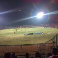 Photo taken at Gelora Bumi Kartini Stadium by Henry V. on 10/20/2013