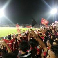 Photo taken at Gelora Bumi Kartini Stadium by Henry V. on 2/17/2014