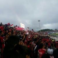 Photo taken at Gelora Bumi Kartini Stadium by Henry V. on 2/9/2014