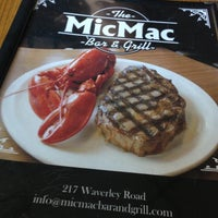 Photo taken at MicMac Bar And Grill by Cam (seehow) H. on 10/26/2012