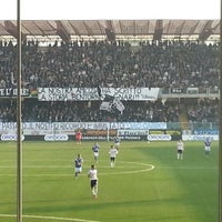Photo taken at Orogel Stadium Dino Manuzzi by Caterina B. on 11/10/2012