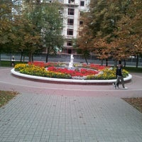 "Photo taken at Гостиница ""Белгород"" by Алина Ч. on 9/16/2012"