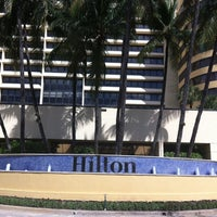 Photo taken at Hilton Miami Airport by Gerson on 9/29/2012
