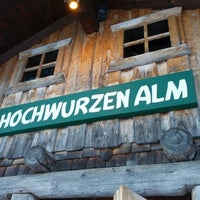 Photo taken at Hochwurzenalm by Dennis D. on 12/27/2012