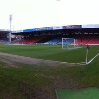 Photo taken at Selhurst Park by Birmingham City Football Club on 3/29/2013