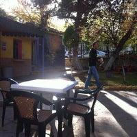 Photo taken at 100. Yıl Aile Çay Bahçesi by İsmail S. on 10/30/2012