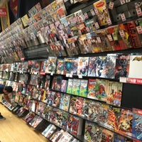 Photo taken at Midtown Comics by Mario T. on 5/8/2013