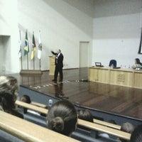 Photo taken at Anfiteatro do Direito by Antonio Henrique N. on 3/21/2013