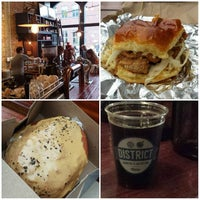 Photo taken at DISTRICT. Donuts. Sliders. Brew. by H.C. @. on 10/24/2015