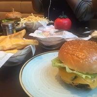 Photo taken at Gourmet Burger Kitchen by Alsuwait A. on 2/18/2017