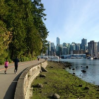 Photo taken at Stanley Park by Dan H. on 10/4/2012