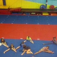 Photo taken at Gwinnett gymnastics center by Debbie O. on 10/7/2013