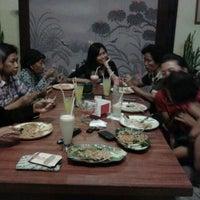 Photo taken at RM Pondok Alami by Marita K. on 12/31/2012