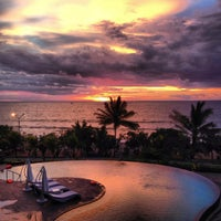Photo taken at Sheraton Bali Kuta Resort by Evan M. on 12/22/2012